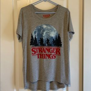 2x women's cut stranger things tee. Never worn.